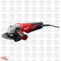 "Milwaukee 6161-30 6"" 13 Amp Small Angle Grinder with Paddle Lock-On O-B"