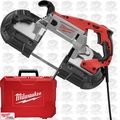 Milwaukee 6232-21 Deep Cut Variable Speed Band Saw Kit PLUS Case O-B