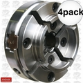 "Nova Lathes 48111 4pk 1""-8 TPI Direct Thread Midi Wood Turning Chuck"