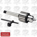 "Nova Lathes 9018 NOVA 1/2"" Keyed Chuck with 2MT Spindle"