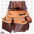 Occidental Leather 5018DB 3 Pouch Pro Tool Pouch w/ Tape Holder