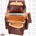 Occidental Leather 5062 Deep Fastener Bag with Holders 4 Pouch