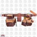 Occidental Leather 5080DB-M Medium Tool Belt Pro Framer w/ Double Outer Bag