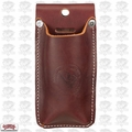 Occidental Leather 5528 Hand Crafted Clip-On Leather Offset Snip Holster