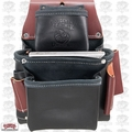 Occidental Leather B5060 3 Pouch Pro Fastener Bag - Black