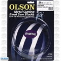 "Olson BM82664 Tooth Metal Cutting Band Saw Blade 64-1/2"""" x 1/2"" x 10"
