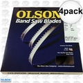 "Olson FB10493DB 4pk 93-1/2"" x 3/16""x4TPI Skip Tooth Flex Back Band Saw Blade"