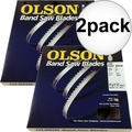 "Olson FB14505DB 2pk 105"" x 1/4"" x 6 TPI Flex Back Band Saw Blade (28-047)"
