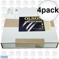"Olson FB28133DB 4pk 133"" x 1"" 2TPI Hook Band Saw Blade"