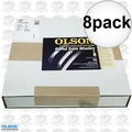 "Olson FB28133DB 8pk 133"" x 1"" 2TPI Hook Band Saw Blade"