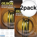 "Olson WB51659BL 2pk 59-1/2"" x 1/8"" x 14 TPI Band Saw Blade"