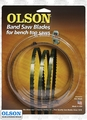 """Olson WB51659BL 59-1/2"""" x 1/8"""" x 14 TPI Band Saw Blade Replaces Delta 28-176"""