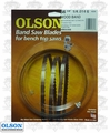 """Olson WB55356BL 56-1/8"""" x 1/4"""" x 6 TPI Band Saw Blade Replaces Delta 28-165"""