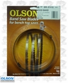 """Olson WB57356BL 56-1/8"""" x 3/8"""" x 6 TPI Band Saw Blade Replaces Delta 28-168"""