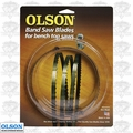 "Olson WB57356BL 56-1/8"" x 3/8"" x 6 TPI Band Saw Blade Replaces Delta 28-168"