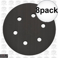 "Porter-Cable 18001 6"" Hook + Loop Backing Pad 8x"