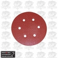 "Porter-Cable 736600625 25pk 6"" 60 grit 6-Hole Sanding Disc"