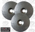 Porter-Cable 823534 3pk Carbide Grit Discs 24, 36 and 46 grit