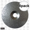 "Porter-Cable 823534 8pk 6"" x 36 Grit Carbide Grit Disc aka 18027"