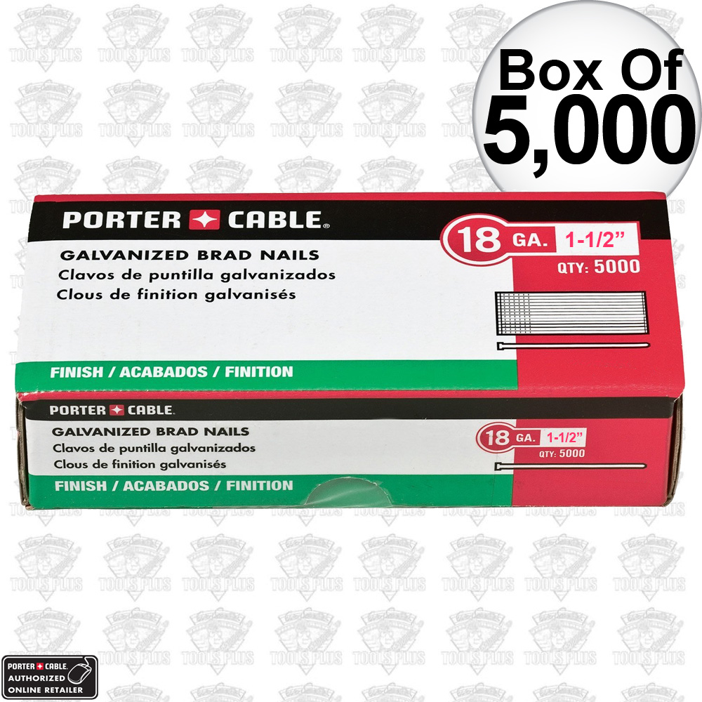 Porter-Cable PBN18150 Box of 5000 1-1/2\