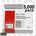 "Porter-Cable PNS18150 5,000 1-1/2"""" x 1/4"" 18G Narrow Crown Staples"