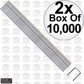 "Porter-Cable PUS38G 2x 10,000pk 3/8"" x 3/8"" 22 Gauge Upholstery Staples"