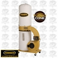 Powermatic 1791078K PM1300TX-BK Dust Collector 1.75HP 1PH 115/230V