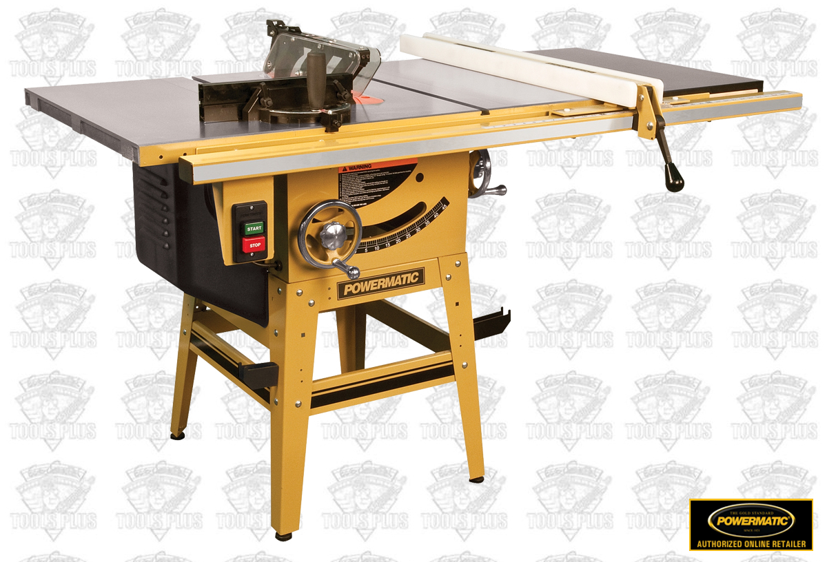 Powermatic 1791230k 10 Tablesaw 50 Accu Fence Riving Knife