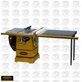 "Powermatic 1792000K Model PM2000 3HP 10""Table Saw + 50"" AccuFence, Ext Table"
