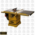"Powermatic 1792002K 3HP 10"" Table Saw + 30"" AccuFence, Ext Table"