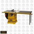 "Powermatic 1792010K 5HP 10""Table Saw + 50"" AccuFence, Ext Table"
