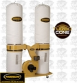 Powermatic 1792071K 3HP Turbo Cone Dust Collector 1PH 230V