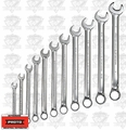 "Proto Tool J1200H11T5 11Piece 3/8"" - 1"" SAE Combination Wrench Set"
