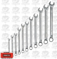 Proto Tool J1200HM11T5 11 Piece 7mm - 19mm Metric Combination Wrench Set