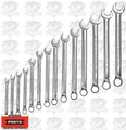 Proto Tool J1200HM14T5 14 Piece 7mm - 20mm Metric Combo Wrench Set 12pt