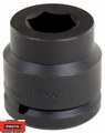 "Proto Tool J15070M 1-1/2"" Drive Impact Socket 75mm 6-Point"