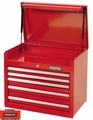 "Proto Tool J442719-5RD 5 Drawer 27"" Red Top Chest"