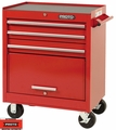 """Proto Tool J442735-3RD 3 Drawer 27"""" Red Roller Cabinet"""