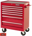 """Proto Tool J442735-7RD 7 Drawer 27"""" Red Roller Cabinet"""