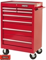 """Proto Tool J442742-8RD 8 Drawer 27"""" Red Roller Cabinet"""