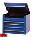 "Proto Tool J453427-4BL 4 Drawer 34"" Blue Top Chest"