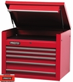 "Proto Tool J453427-5RD 5 Drawer 34"" Red Top Chest"