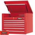 "Proto Tool J453427-6RD 6 Drawer 34"" Red Top Chest"
