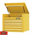 "Proto Tool J453427-6YL 6 Drawer 34"" Yellow Top Chest"