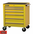 """Proto Tool J453441-6YL 6 Drawer 34"""" Yellow Roller Cabinet"""