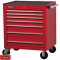 """Proto Tool J453441-7RD 7 Drawer 34"""" Red Roller Cabinet"""