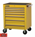 """Proto Tool J453441-7YL 7 Drawer 34"""" Yellow Roller Cabinet"""