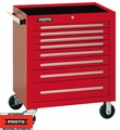 """Proto Tool J453441-8RD 8 Drawer 34"""" Red Roller Cabinet"""