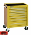 """Proto Tool J453441-8YL 8 Drawer 34"""" Yellow Roller Cabinet"""