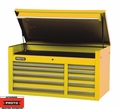 "Proto Tool J455027-10YL 10 Drawer 50"" Yellow Top Chest"